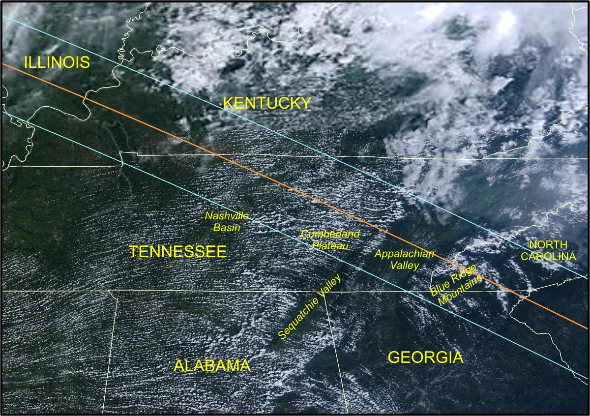 Kentucky and Tennessee | Eclipsophile on national symbols of tennessee, political map of tennessee, driving to tennessee, relief map of tennessee, water map of tennessee, large printable map of tennessee, physical map of tennessee, interactive map of tennessee, driving map of tennessee, gps map of tennessee, google tennessee, satellite weather in tn, satellite maps of homes, street map of tennessee, lowest point in tennessee, complete map of tennessee, detailed map of tennessee, online map of tennessee, outline map of tennessee, elevation of tennessee,